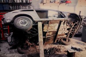 Rozbiórka Fiata 126p